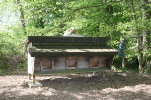 Ein alter Bienenstand
