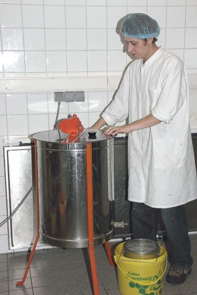 Hygiene beim Schleudern von Honig