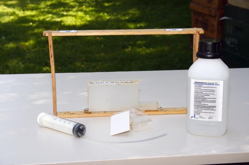 Nassenheider-Verdunster im Leerrahmen